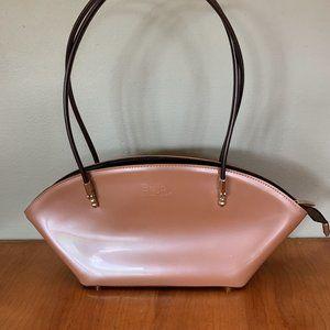 Beijo Patent Leather Shoulder Bag